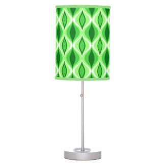 Luminária De Mesa Diamantes, esmeralda & verde limão modernos do