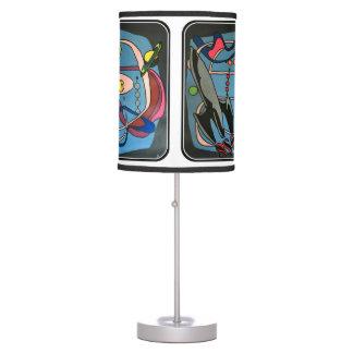 """Luminária De Mesa Do """"o espaço da modificação MidCentury é pintura"""
