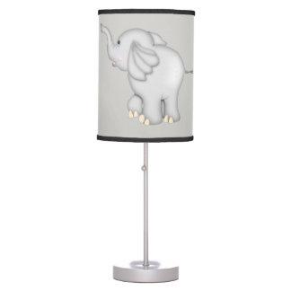 Luminária De Mesa Elefante bonito do bebê do miúdo