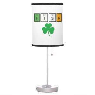Luminária De Mesa Elementos químicos irlandeses Zc71n