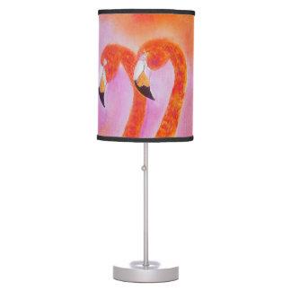 Luminária De Mesa Flamingos flamejantes