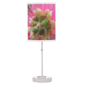 Luminária De Mesa Flor cor-de-rosa da árvore de goma