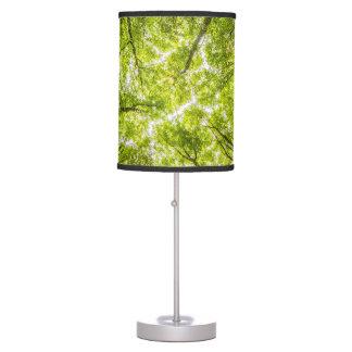 Luminária De Mesa Floresta verde bonita