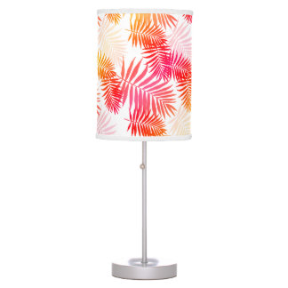 Luminária De Mesa Folha da palmeira da decoração das mulheres em