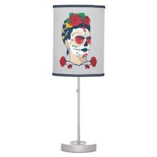 Luminária De Mesa Frida Kahlo | EL Día de los Muertos