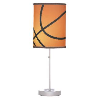 Luminária De Mesa Fundo do azul do ícone do basquetebol