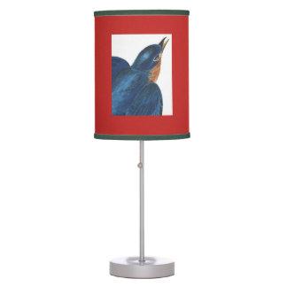 Luminária De Mesa Impressão de Audubon do pássaro de estado da