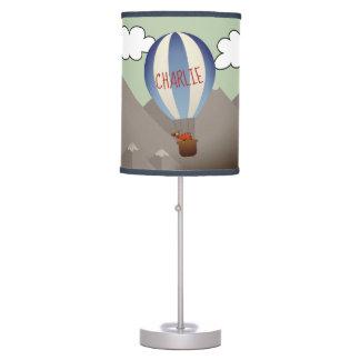 Luminária De Mesa Jovem corça personalizada no candeeiro de mesa do