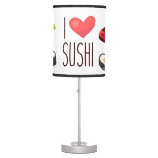 Luminária De Mesa Kawaii eu amo a lâmpada do sushi