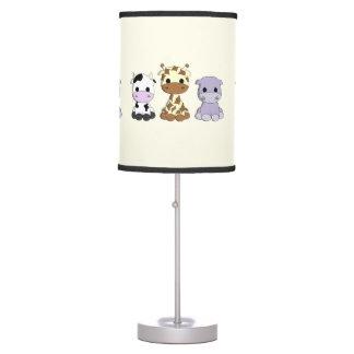 Luminária De Mesa Lâmpada bonito do berçário dos desenhos animados