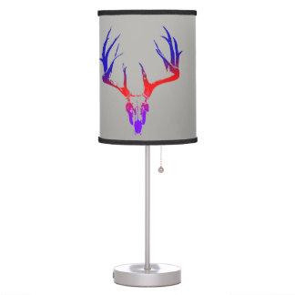 Luminária De Mesa Lâmpada da caça dos cervos