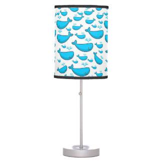 Luminária De Mesa lâmpada decorativa da baleia azul das crianças