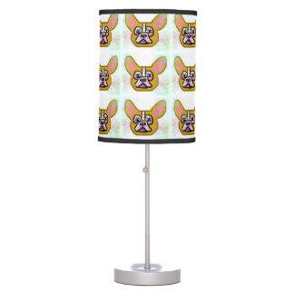 Tan French Bulldog Lamp
