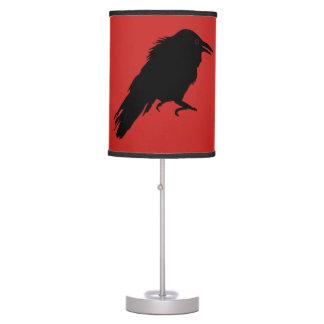 Luminária De Mesa Lâmpada do corvo