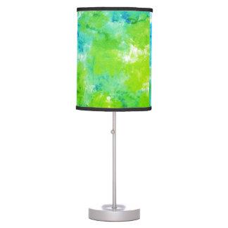 Luminária De Mesa Lâmpada do impressão da esponja