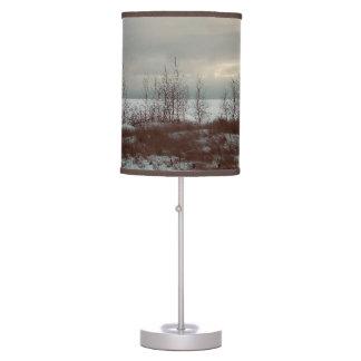 Luminária De Mesa Lâmpada do por do sol da paisagem da árvore