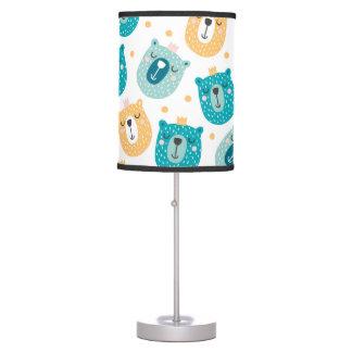 Luminária De Mesa Lâmpada dos miúdos - design engraçado dos ursos