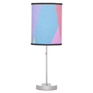 Luminária De Mesa Lâmpada Pastel macia do estilo dos tons