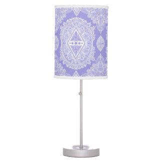 Luminária De Mesa Lilac, idade do despertar, bohemian, newage