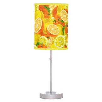 Luminária De Mesa Limões do citrino do verão & laranjas