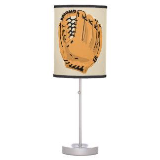 Luminária De Mesa Luva de basebol da lâmpada das crianças