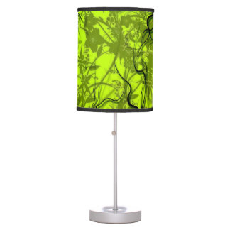 Luminária De Mesa Luz - verde