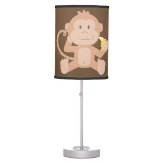 Luminária De Mesa Macaco bonito do bebê da lâmpada das crianças