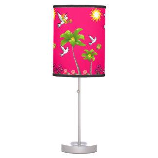 Luminária De Mesa Máscara de lâmpada decorativa