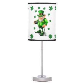 Luminária De Mesa Máscara de lâmpada decorativa de St Patrick