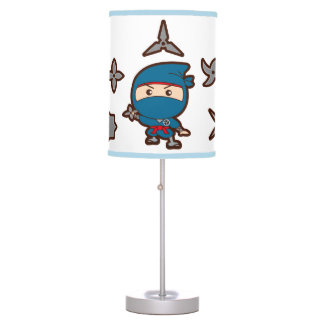 Luminária De Mesa Menino de Ninja