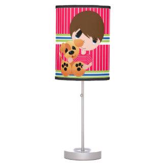 Luminária De Mesa Meninos - candeeiro de mesa