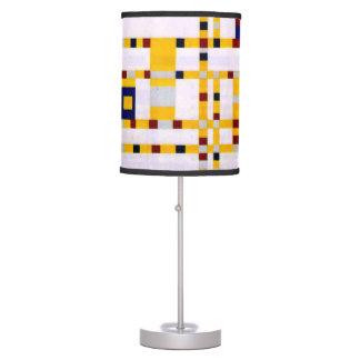Luminária De Mesa Mondrian - dança Woogie de Broadway