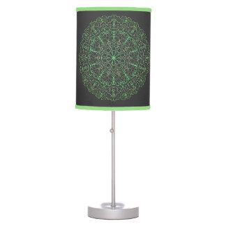 Luminária De Mesa Nero do verde e do cerchio do candeeiro de mesa