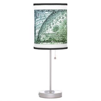 Luminária De Mesa O mundo escondido (verde)