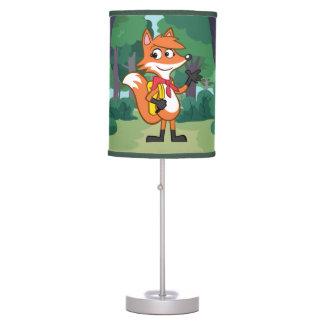 Luminária De Mesa Ondulação do Fox do rick | Scarlett da guarda