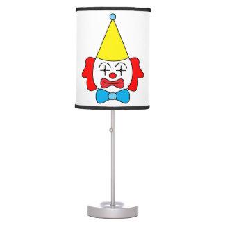 Luminária De Mesa Palhaço - cara engraçada