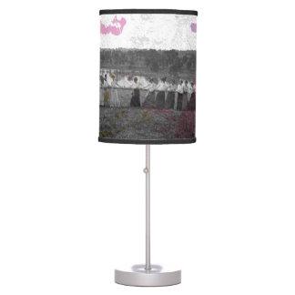 Luminária De Mesa Splatter da pintura da Reboque-O-Guerra do