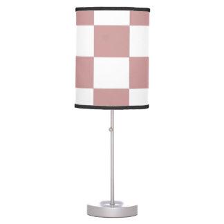 Luminária De Mesa Tabuleiro de damas cor-de-rosa