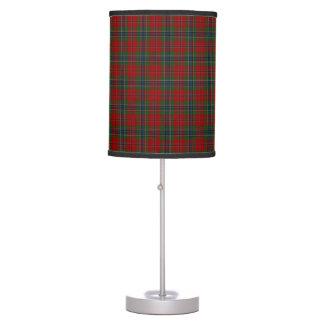 Luminária De Mesa Tartan MacLean moderno escocês de Maclean de Duart