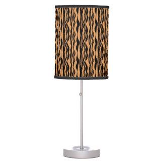 Luminária De Mesa Teste padrão à moda do impressão do tigre