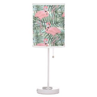 Luminária De Mesa Teste padrão bonito das folhas de palma dos