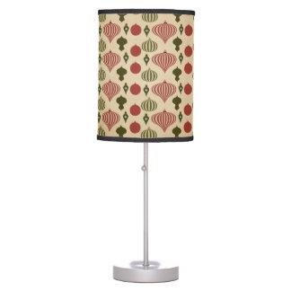 Luminária De Mesa Teste padrão do ornamento do natal vintage