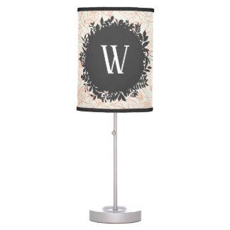Luminária De Mesa Teste padrão sem emenda do esboço cor-de-rosa com