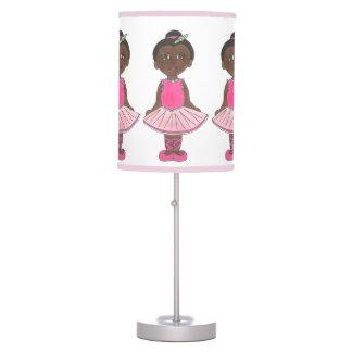 Luminária De Mesa Tutu do rosa do rosa da bailarina do dançarino de