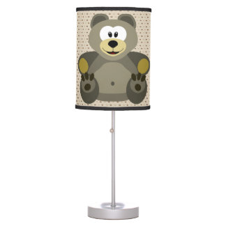 Luminária De Mesa Urso de ursinho bonito da lâmpada das crianças