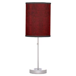 Luminária De Mesa Vermelho escuro - candeeiro de mesa do