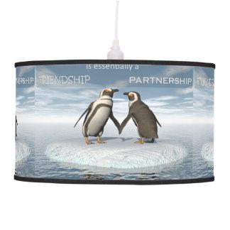 Luminária De Teto A amizade é essentailly uma parceria
