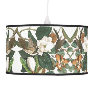Luminária De Teto A magnólia dos pássaros do cuco de Audubon