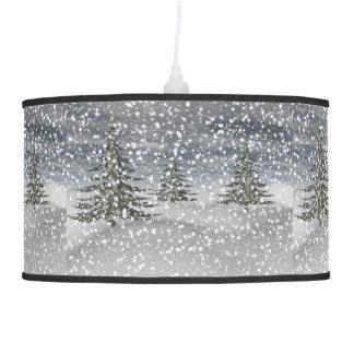 Luminária De Teto abeto e neve