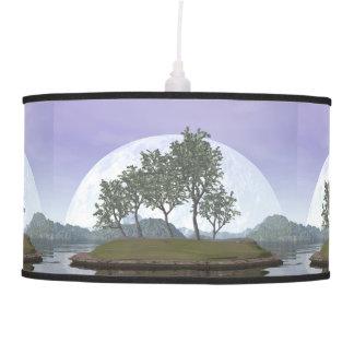 Luminária De Teto Árvore com folhas lisa dos bonsais do olmo - 3D